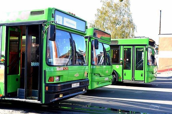 Изменения движения городских автобусов на 8 и 9 мая в Жлобине