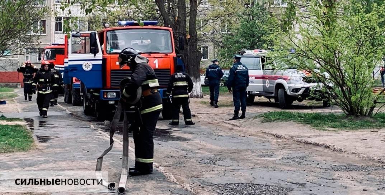 В Жлобине при пожаре едва не погиб лежачий пенсионер