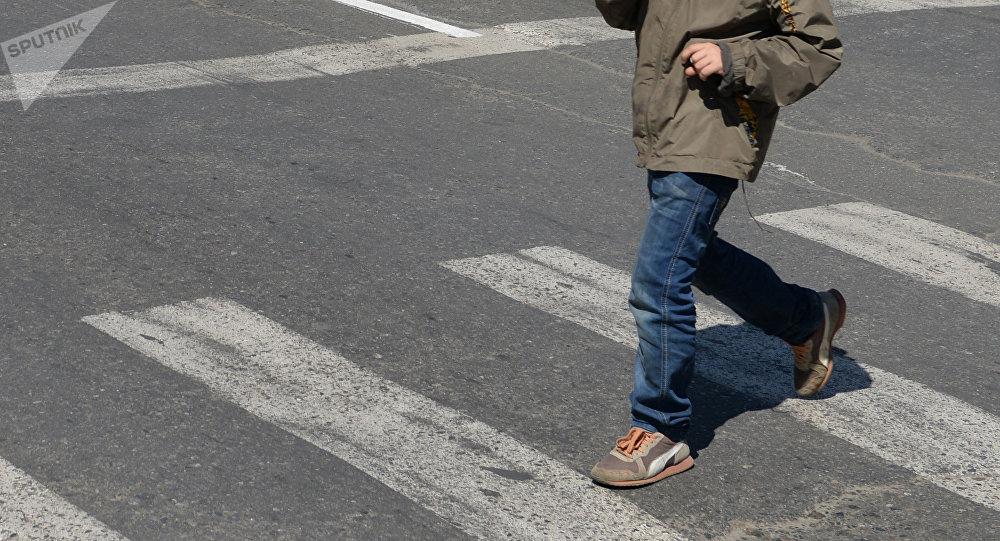 В Солигорске «Фольксваген» сбил семилетнего мальчика. Видео