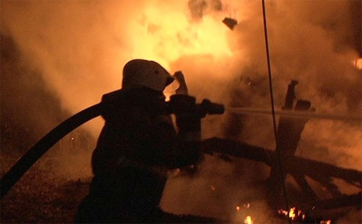 Сразу два пожара в Жлобине и районе